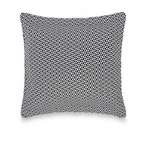 imagem do produto Almofada Decorativa Jacquard Quadrada 45x45cm Ravena Nero - Trussardi