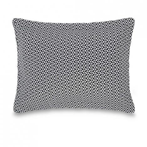 imagem do produto Almofada Decorativa Jacquard Retangular 30x50cm Ravena Nero - Trussardi