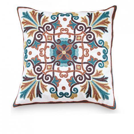 imagem do produto Almofada Decorativa Quadrada 45x45cm Francesa Marselha - Jolitex