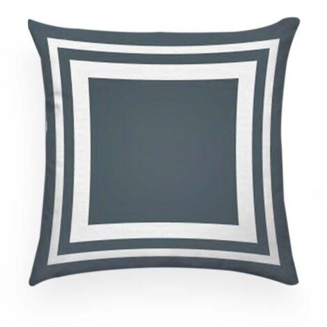 imagem do produto Almofada Decorativa Quadrada 55x55cm Linho Santorine 01 - Kacyumara