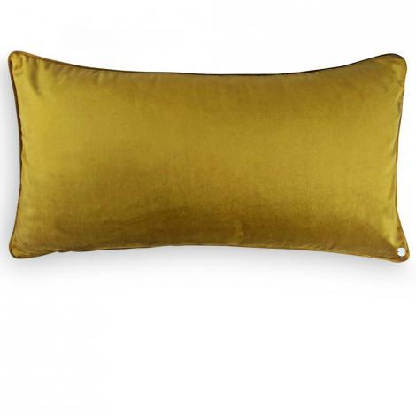 imagem do produto Almofada Decorativa Retangular 35x70cm Veludo Codes Geométrica 8875 - Muguet Home