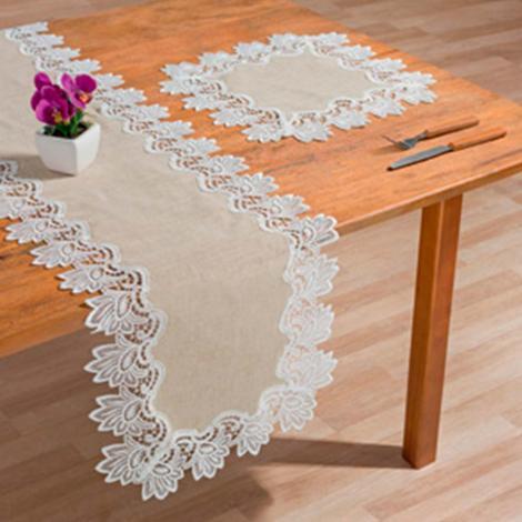 imagem do produto Caminho de Mesa Retangular 40x135cm 2214 - Rafimex