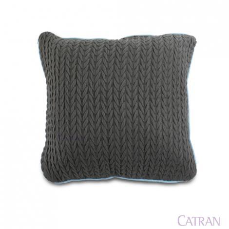 imagem do produto Capa de Almofada 50x50cm Relevo - Catran