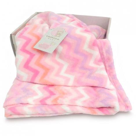 imagem do produto Cobertor Berço Flannel Zig Zag - Camesa