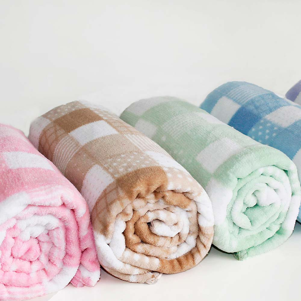 fadd812aa71ddd Cobertor Berço Microfibra Patchwork - Camesa