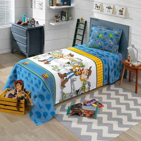 a2878188e8 Infantil Colcha Dohler Colcha Solteiro Infantil Piquet Toy Story 01 Cama  Mesa Banho