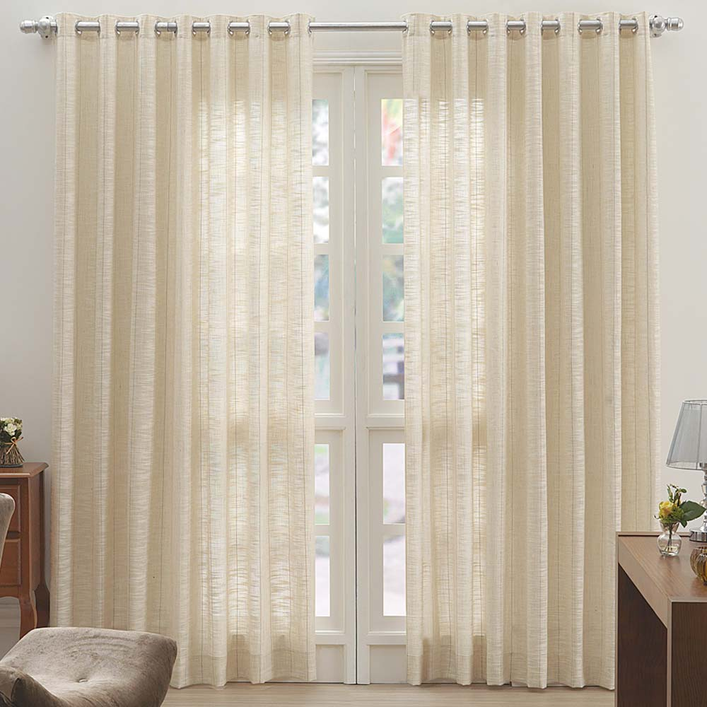 Decora O Cortinas Dohler Cortina Decorativa Rosane 300x280cm Cama