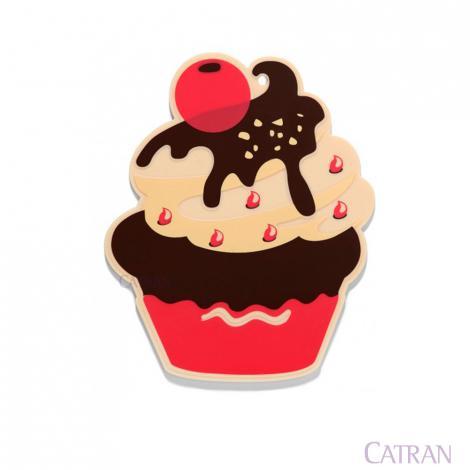 imagem do produto Descanso de Panela Cranberry Cupcake - Copa e Cia