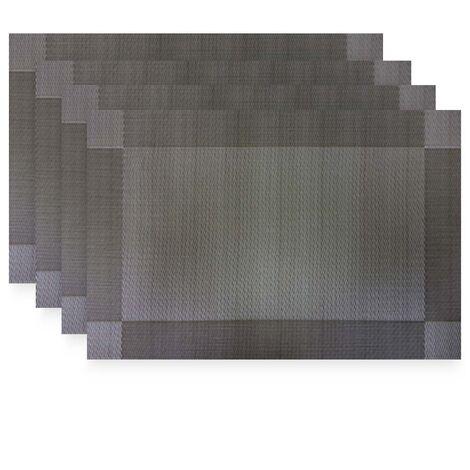 imagem do produto Jogo Americano 4 peças Retangular 30x45cm Santiago Des. 003 - Niazitex