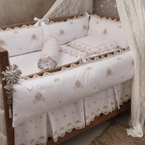 imagem do produto Kit Berço 200 Fios 6 Peças Princess - Marken Fassi Baby