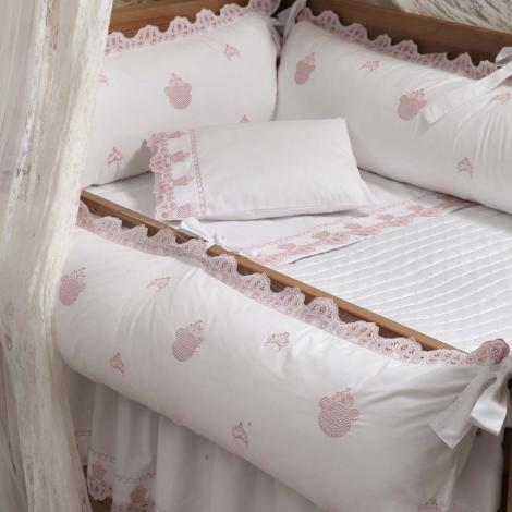 imagem do produto Kit Berço 200 Fios 6 Peças Ursa - Marken Fassi Baby