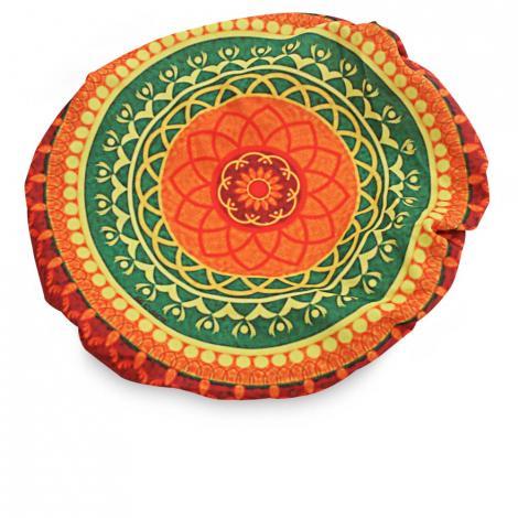 imagem do produto Kit Capa Sousplat 4 peças Redondo 37cm Sublimação 6 - Catran