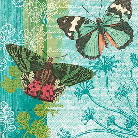 imagem do produto Kit Guardanapos 20 peças Ambiental Paper Flying Friends - Catran