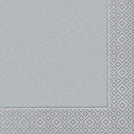 imagem do produto Kit Guardanapos 20 peças Ambiental Paper Uni Silver - Catran