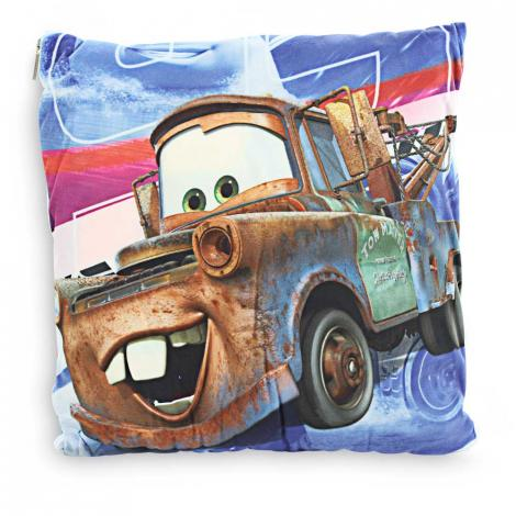 imagem do produto Manta Almofada Infantil Disney Carros - Jolitex