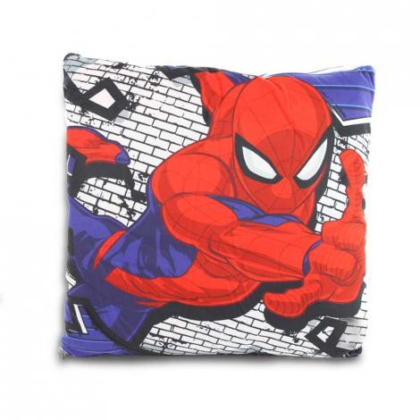 imagem do produto Manta Almofada Solteiro Infantil Marvel Spider - Jolitex