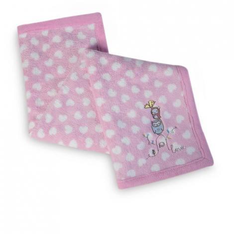 imagem do produto Manta Fleece Bordada Coruja - Lepper