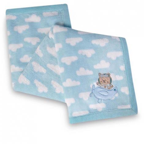 imagem do produto Manta Fleece Bordada Urso Piloto - Lepper