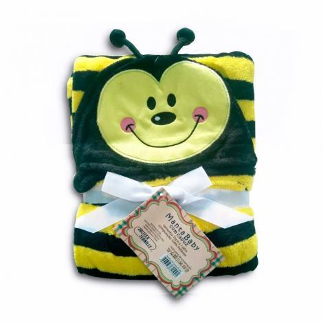 imagem do produto Manta Infantil Com Capuz Abelha - Jolitex