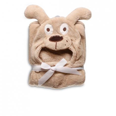 imagem do produto Manta Infantil Com Capuz Caozinho - Jolitex