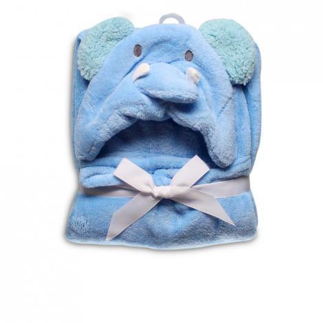 imagem do produto Manta Infantil Com Capuz Elefante - Jolitex