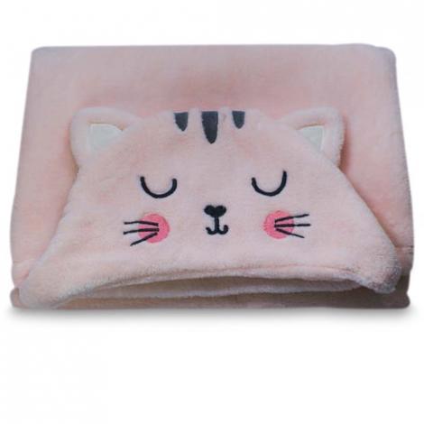 imagem do produto Manta Infantil Com Capuz Gato - Camesa