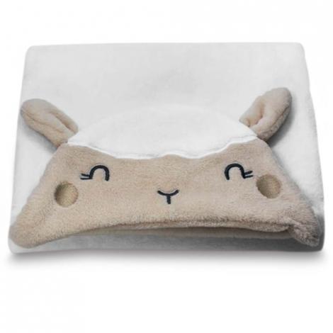 imagem do produto Manta Infantil Com Capuz Ovelha - Camesa
