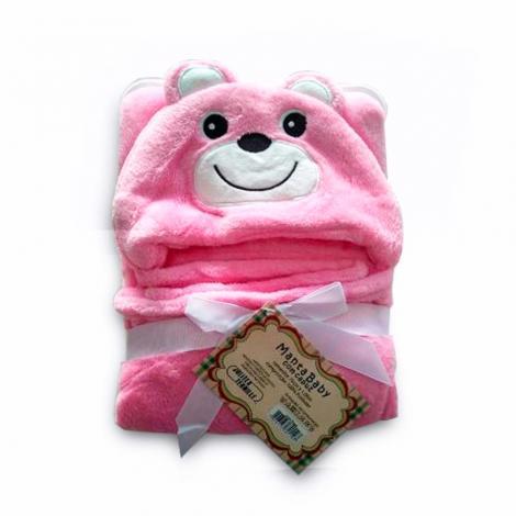 imagem do produto Manta Infantil Com Capuz Urso - Jolitex