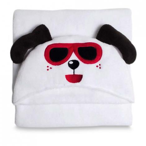 imagem do produto Manta Infantil Microfibra Com Capuz Happy Dog - Buettner