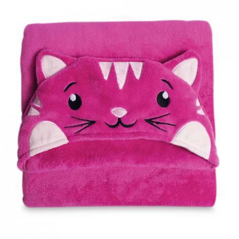 imagem do produto Manta Infantil Microfibra Com Capuz Tigresa - Buettner