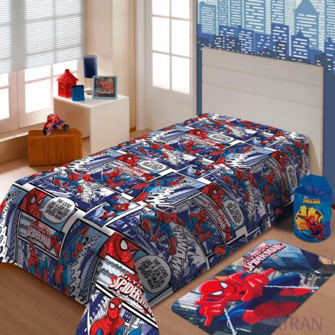 imagem do produto Manta Soft Solteiro Infantil Spider Man - Jolitex