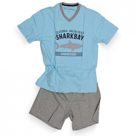 imagem do produto Pijama Curto Malha 11701 AE20 - Fits Well