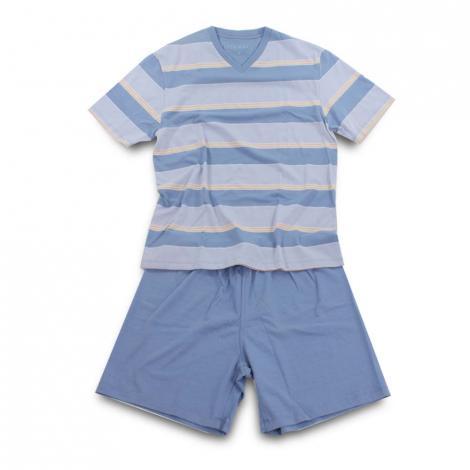 imagem do produto Pijama Masculino Curto Malha 21152 - Fits Well