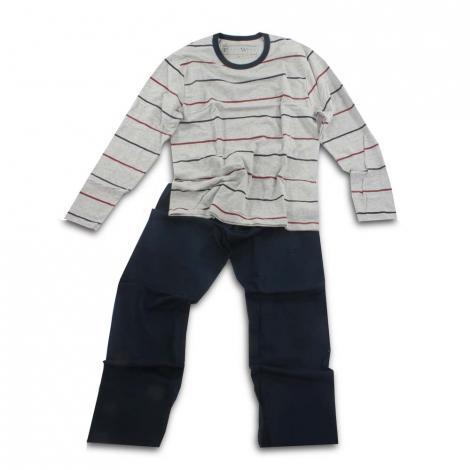 imagem do produto Pijama Masculino Longo Malha 12022 - Fits Well