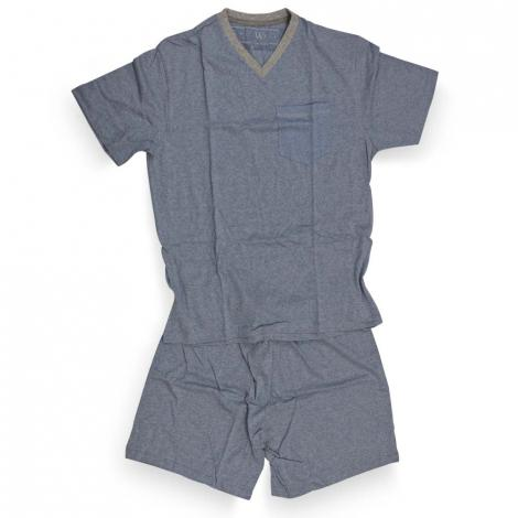 imagem do produto Pijama Médio Curto Malha 11292 DB02 - Fits Well
