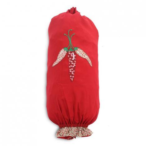 imagem do produto Puxa Saco Bordado Brim Pimenta - Catran