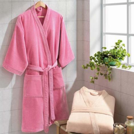 imagem do produto Roupão de Banho Adulto Unissex Médio Velour - Dohler