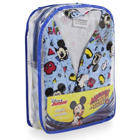 imagem do produto Roupão Infantil Grande com Mochila Velour Mickey 15 - Dohler