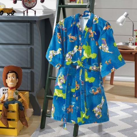 imagem do produto Roupão Infantil Pequeno Velour Toy Story 02 - Dohler