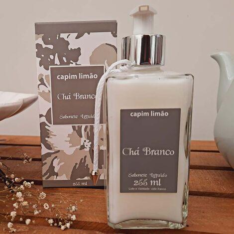 imagem do produto Sabonete Líquido Chá Branco 255 ml - Capim Limão