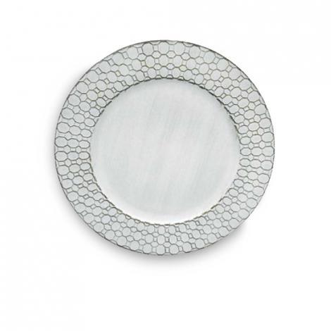 imagem do produto Sousplat Avulso Redondo 33cm SP2142 - Rafimex