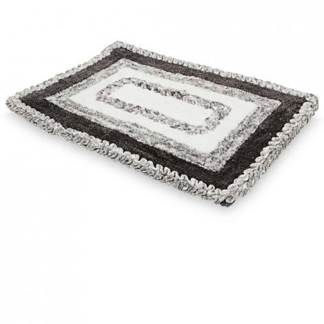 imagem do produto Tapete Antiderrapante Decore Retangular 70x110cm Londres - Kacyumara