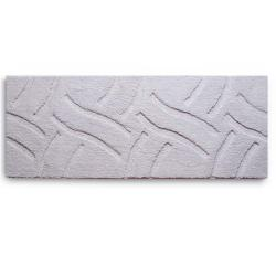 Tapete Passadeira Antiderrapante 55x140cm Luxury Off White 55x140cm