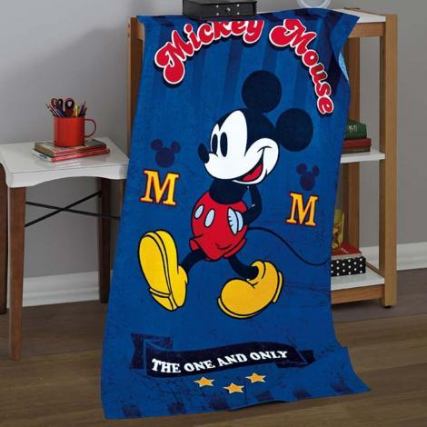 f9af4f1770 Infantil Toalha de Banho Dohler Toalha de Banho Infantil Velour Mickey 03  Cama Mesa Banho