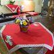 imagem do produto Toalha de Mesa Quadrada 100x100cm Brim Gourmet Chá - Catran
