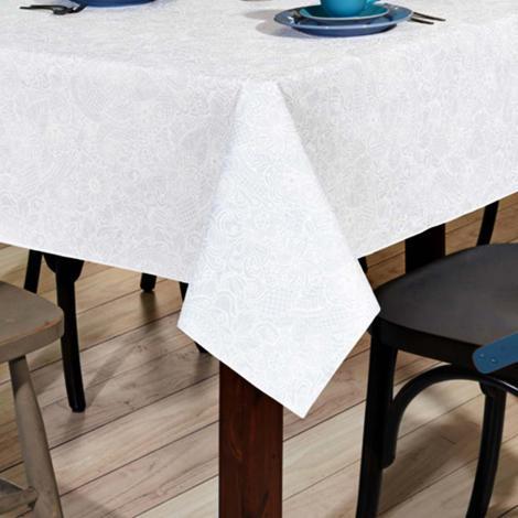 imagem do produto Toalha de Mesa Quadrada 140x140cm Clean Athenas Edite - Dohler