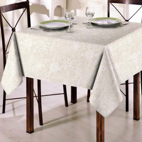 imagem do produto Toalha de Mesa Quadrada 140x140cm Clean Athenas Eliete - Dohler