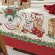 imagem do produto Toalha de Mesa Quadrada 140x140cm Natal Segredos de Receita - Karsten