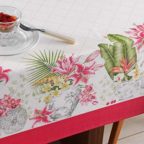 imagem do produto Toalha de Mesa Quadrada 160x160cm Sempre Limpa Élen - Karsten