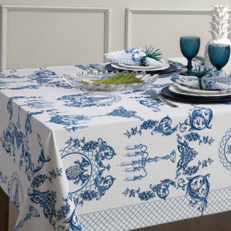 imagem do produto Toalha de Mesa Quadrada 180x180cm Chateau - Naturalle Fashion